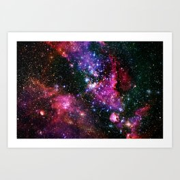 Outer Space Two Art Print