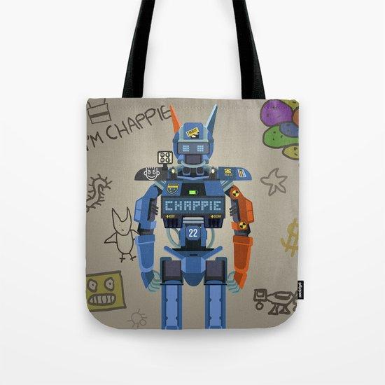 Chappie vector fanart Tote Bag