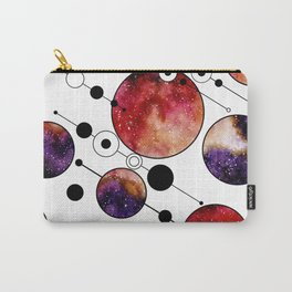 Galaxy Geometric Pattern 22 Carry-All Pouch