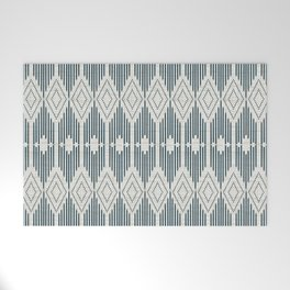 West End - Linen Welcome Mat