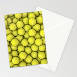Tennis balls Stationery Cards