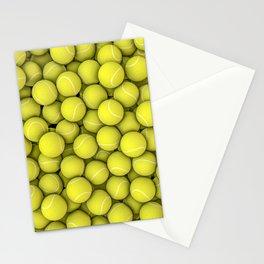 Tennis balls Stationery Cards