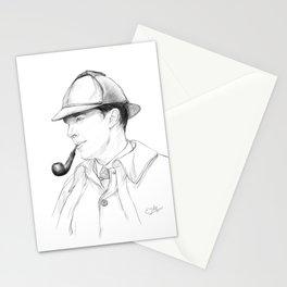Victorian Sherlock Holmes Stationery Cards