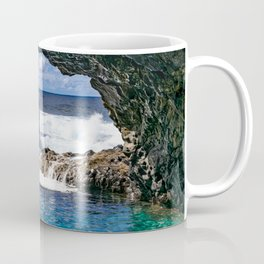 Charco azul, volcanic natural pool Coffee Mug