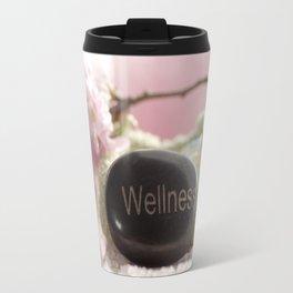Bathroom Decoration with almond blossoms Travel Mug
