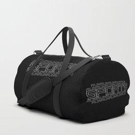 Run for relaxation, pleasure, health... black Duffle Bag