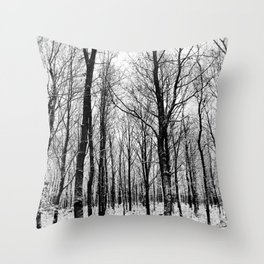Haunter Of The Woods Throw Pillow