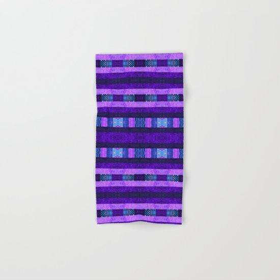 Quilt Top - Deep Purple Hand & Bath Towel