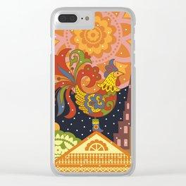 Cockerel Clear iPhone Case