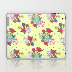 Flowers [yellow] Laptop & iPad Skin