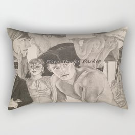 "Poster ""Fifty Shades Darker"" Rectangular Pillow"