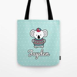 Custom Koala Jayden Tote Bag