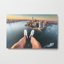 skyline of manhattan Metal Print