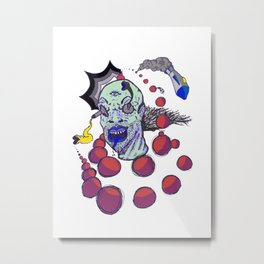 Radical Motion Metal Print