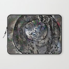 Fractured Brushes In a World Laptop Sleeve