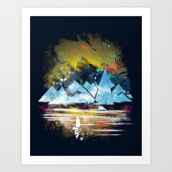 iceland islands Art Print