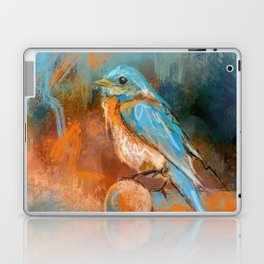 A Splash Of Bluebird Laptop & iPad Skin