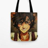 viria Tote Bags featuring Leo by viria