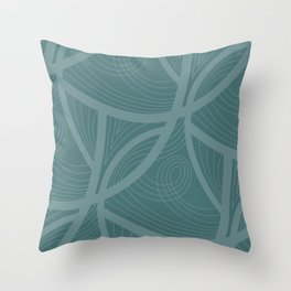 Swirl C3 Throw Pillow