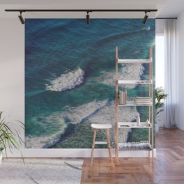 Waves Crashing Wall Mural