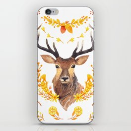Autumn Deer iPhone Skin