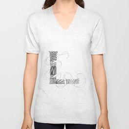 """Zenletter """"L"""" Unisex V-Neck"""