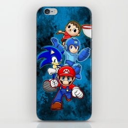 Super Smash Bros  iPhone Skin