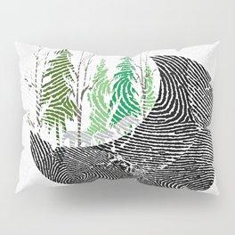 Our fingerprint on earth Pillow Sham