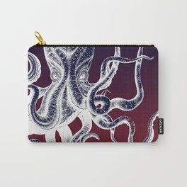 Vintage Octopus Colors Carry-All Pouch