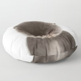 Baby Otter Floor Pillow