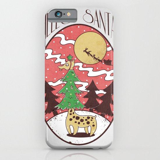 Hello Santa iPhone & iPod Case