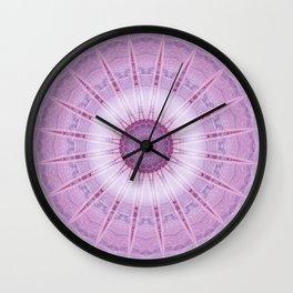 Mandala light of the fairy Wall Clock