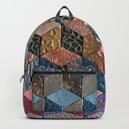 Tumbling Blocks #3 Backpack