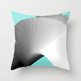 Flying Cards Throw Pillow