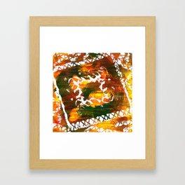 Aztec Culture Framed Art Print