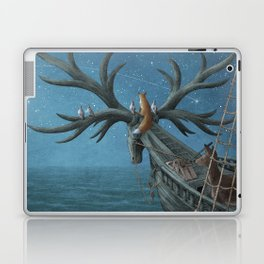 An Island Appeared Laptop & iPad Skin