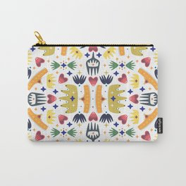 Crown Folk Carry-All Pouch