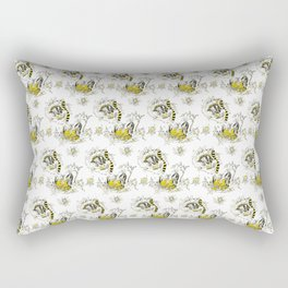 Hufflepuff Toile Rectangular Pillow