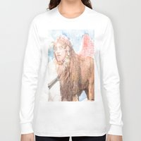 sphynx Long Sleeve T-shirts featuring sphynx by Ganech joe
