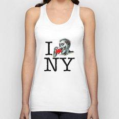 I Zombie Apocalypse New York Unisex Tank Top