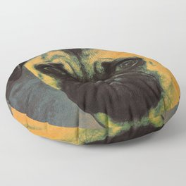 I LOVE MY PUG Floor Pillow