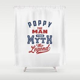 Gift for Poppy Shower Curtain