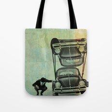 VW Tie-Down Tote Bag