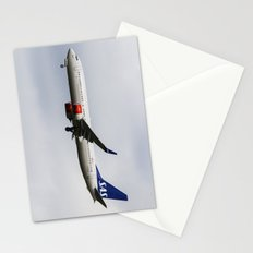 Scandinavian Airlines Boeing 737 Stationery Cards