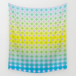 Remixed energy Wall Tapestry