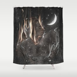 Your gifted night. Shower Curtain