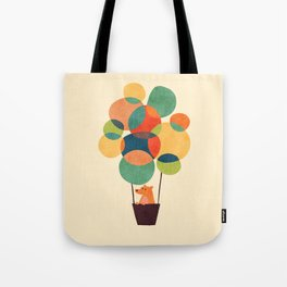 Whimsical Hot Air Balloon Tote Bag