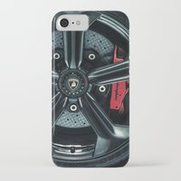 lamborghini iPhone & iPod Cases featuring Lamborghini Sesto Elemento  by Spyck