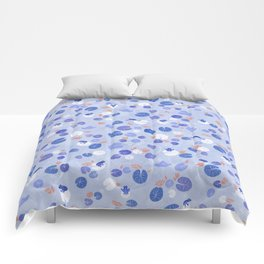 Lilypads and Frogs Comforters