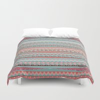 boho Duvet Covers featuring BOHO by Nika